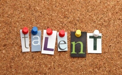 Talent pinned on noticeboard