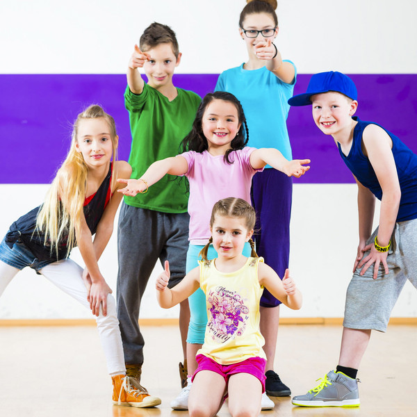33782967 - children in class dancing modern group choreography