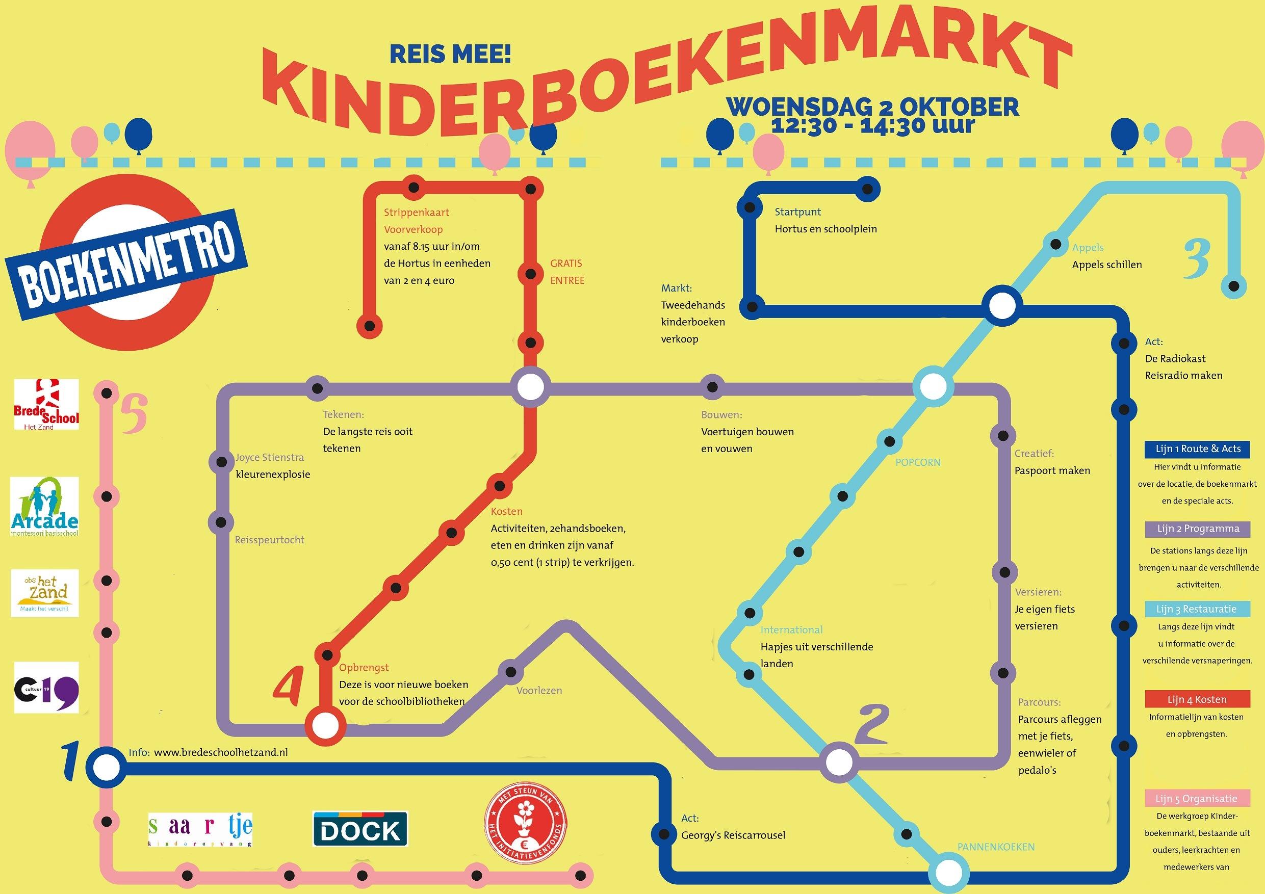 Kinderboekenmarkt BSHZ 2 oktober 2019