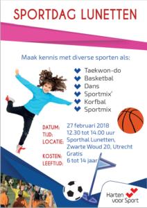 sportdag Lunetten