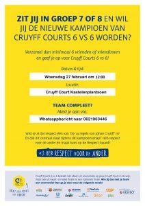 Cruyff 6 vs 6 Hoograven