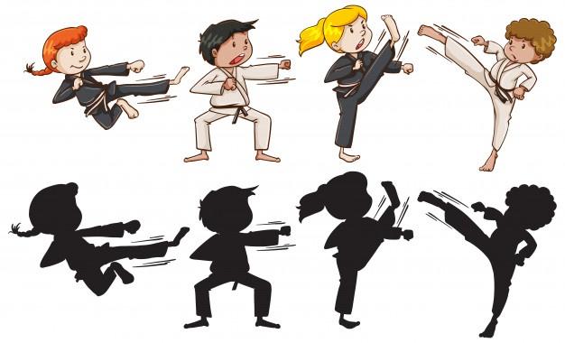 set-van-karate-kinderen_1308-26296