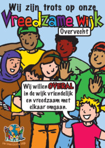 OVERVECHT #7 poster vreedzame wijk