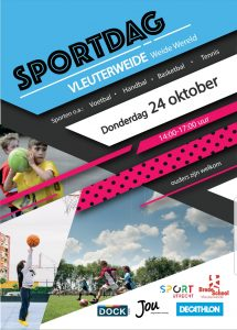 Flyer Sportdag 24 oktober 2019